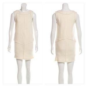 FENDI Raw-Edge-Trimmed Wool Dress